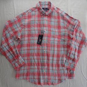 Vineyard Vines L Men's Murray Linen Button Shirt